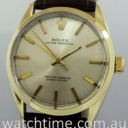 Rolex Oyster Perpetual, Gold-capped 1966