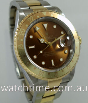 Rolex GMT Master  Root Beer  16713  Box   Papers