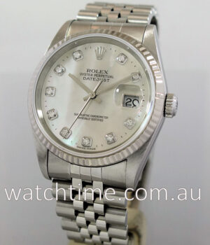 Rolex Datejust 16234 Mother of Pearl Diamond-dial