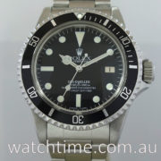 Rolex SeaDweller 1665  Box & Papers 1982