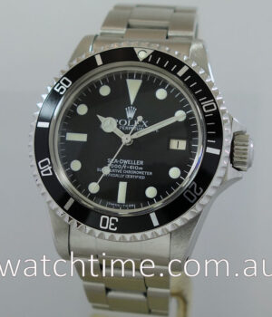 Rolex SeaDweller 1665  Box   Papers 1982