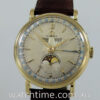 18k Omega Triple Calendar Moonphase c 1946