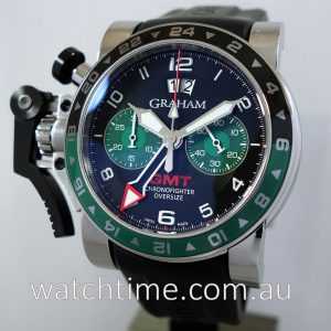 Graham Chronofighter Oversize GMT Big Date 2OVGS B12A K10B