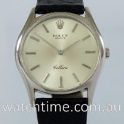 Rolex Cellini 18k White-Gold, Midsize 3804