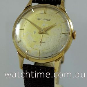 Jaeger leCoultre 18k  Hand-wound Cal P480 C