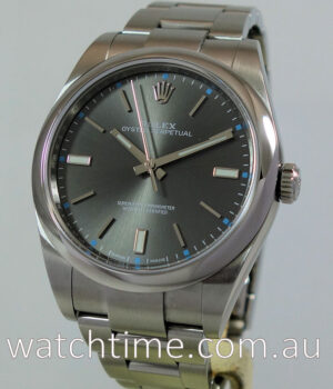 Rolex Oyster Perpetual 39mm July 2016 114300