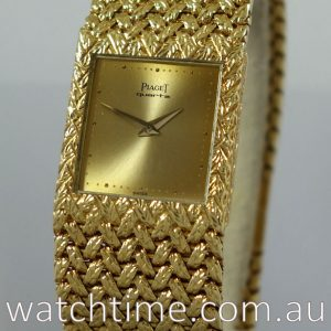 Piaget 18k Yellow-Gold with Intergal bracelet  ref  7131D2