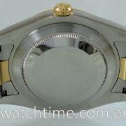 Rolex Datejust II 18k Gold & Steel 116333 Box&Card