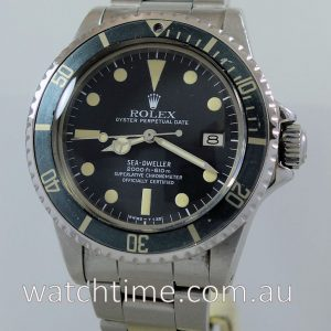 Rolex SeaDweller 1665  VINTAGE  Box   Papers 1978
