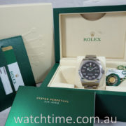 Rolex  Air-King 116900  Sep. 2018 Box & Papers