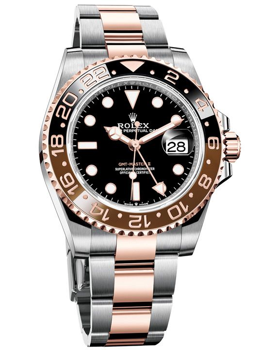 """Rolex GMT-Master II """"Rootbeer"""" 126711CHNR May 2018 Box & Papers"""