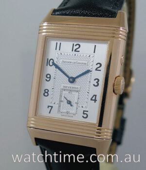 Jaeger LeCoultre Reverso Duo Day-Night 18k Rose-Gold