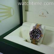 Rolex GMT II, 18k Gold & Steel, Ceramic bezel  116713LN