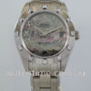 Rolex Pearlmaster 34, White-Gold, Special Dial & 12 Diamond Bezel 81319
