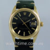 Rolex GOLD Oyster Date  c 1978  RARE Black-Dial