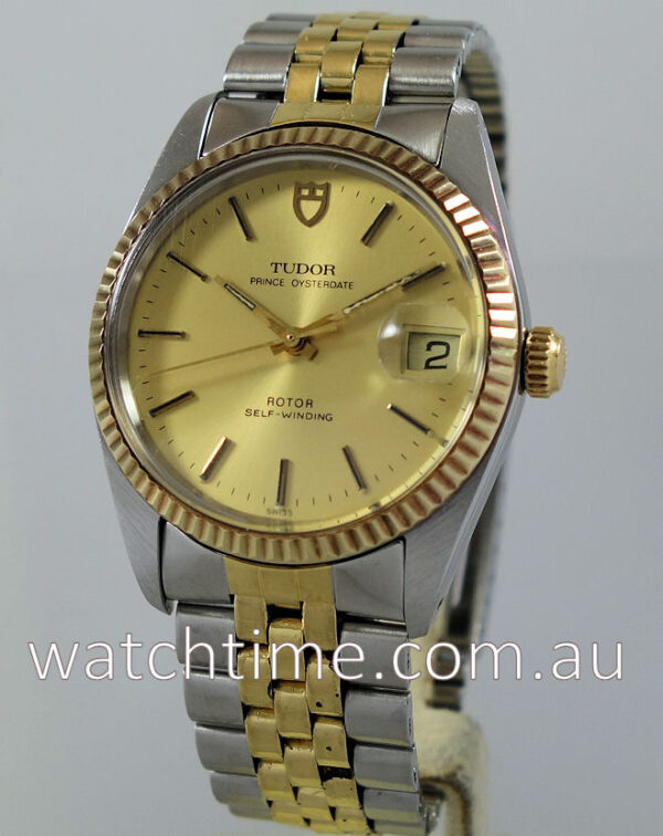 Tudor Prince Oyster Date 75203 with Papers