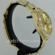 Rolex Oyster-Date 14k Yellow-Gold  c 1981