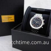 BREITLING NAVITIMER 1 Chronograph GMT 46 Black Dial A24322