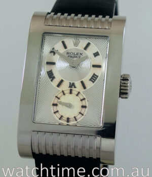 Rolex Cellini Prince  18k White-Gold  5441 9 with Papers