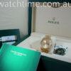 Rolex President Day-Date 118238 Diamond-Dial 2018 box & Card.