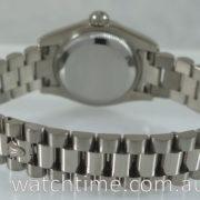 Rolex Lady Datejust  18k White-Gold, President bracelet 179179