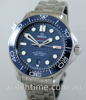 Omega Seamaster Co   Axial MASTER CHRONOMETER  Blue-dial March 2019
