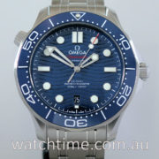 Omega Seamaster Co‑Axial MASTER CHRONOMETER, Blue-dial March 2019