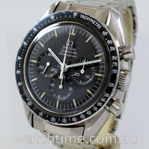OMEGA Speedmaster 1969 1970 Straight Writing with Papers