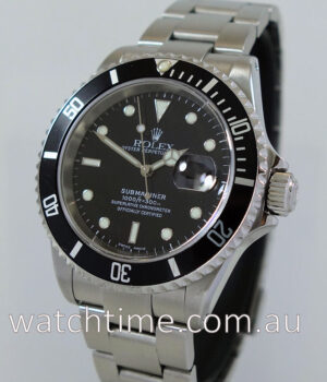 Rolex Submariner Date 16610  SEL  Box   Papers 2001