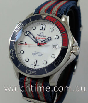 Omega Seamaster Co-Axial James Bond 007 Commanders Oct 2018 AS NEW