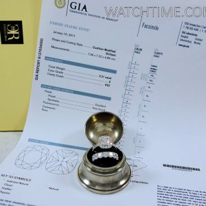 Diamond Ring Set with GIA Certificate  Total 5 45ct