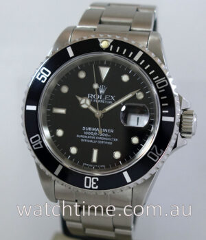 Rolex Submariner Date 16610   Box   Papers 1991