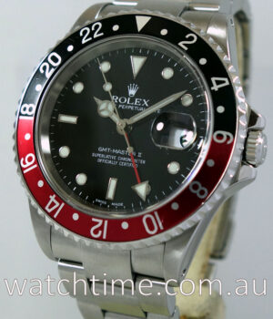 ROLEX GMT MASTER II   Coke   16710  Box   Papers