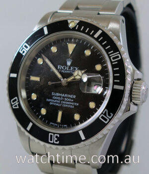 Rolex Submariner Transitional ref 16800
