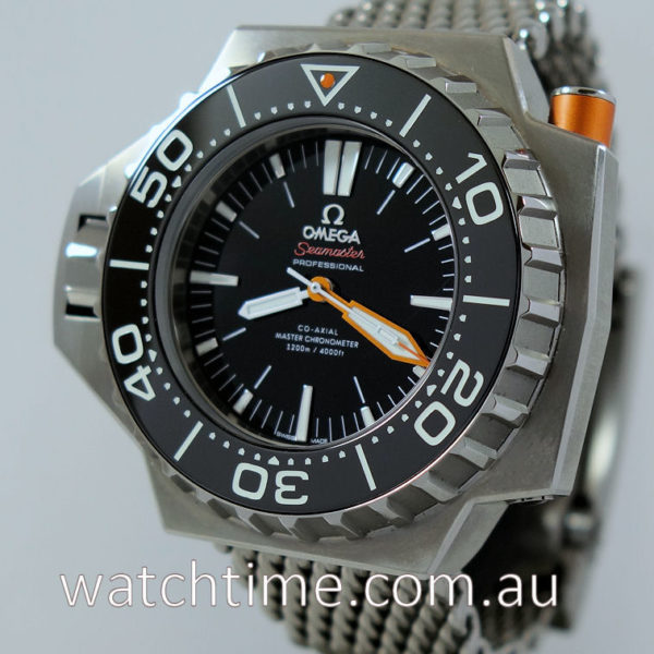 Omega Seamaster Ploprof Co-Axial Master  Titanium OCT 2019 Box & Card.