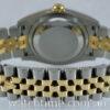 Rolex Datejust 18k & Steel, 116233  Black Diamond-dial