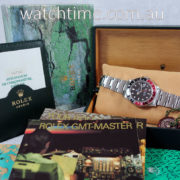 """ROLEX GMT MASTER II  """"Coke""""  16710  Box & Papers"""