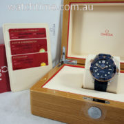 Omega Seamaster Diver 300m  Gold & Steel  2019 Box & Cards
