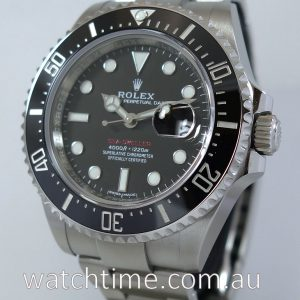 ROLEX SEA-DWELLER 4000 50th Anniversary  April  2018 126600   IN STOCK NOW