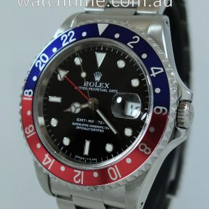 ROLEX GMT MASTER II   Pepsi   16700  Box   Papers