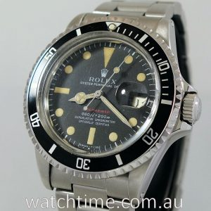 Rolex RED Submariner 1680  Circa 1970