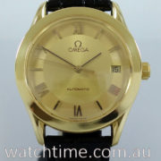 OMEGA Classic Heritage 18k Yellow-Gold on Leather