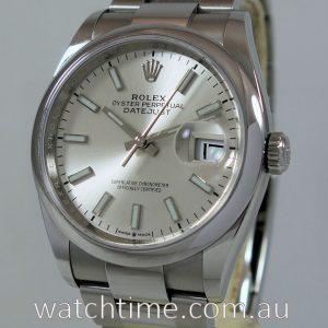 Rolex Datejust 36 Silver Dial 126200