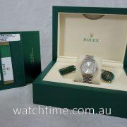 Rolex Datejust 31 Steel Diamond dial 178274