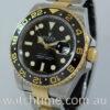 Rolex GMT II 18k Gold & Steel 116713LN 2009 Box & Papers