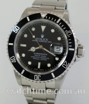 Rolex Submariner Date 16610   Box   Papers 2005 SEL