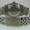 Rolex Datejust 36 Black-dial, White-Gold Bezel 16014