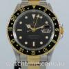 Rolex GMT Master II  16713  18k & Steel Box & Papers 1997