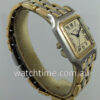 Cartier Panthere  18k Gold & Steel  Midsize, 3 Rows of Gold