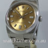 Rolex Oyster Perpetual 36mm  Gold-dial  116000